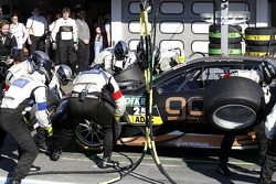 Pitstop, Pascal Wehrlein, Mercedes AMG DTM-Takımı HWA DTM Mercedes AMG C-Coupe