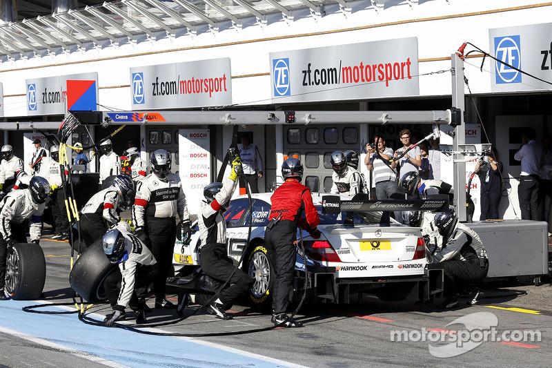 Parada en pits de, Paul Di Resta, Mercedes AMG DTM-Team HWA DTM Mercedes AMG C-Coupe