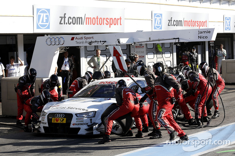 Parada en pits de, Nico Muller, Audi Sport Team Rosberg Audi RS 5 DTM