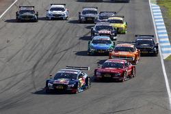 Start of the Race, Mattias Ekstrom, Audi Sport Team Abt Sportsline, Audi A5 DTM