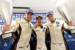 Vainqueurs de la catégorie GTC : Bas Leinders, Henry Hassid, Markus Palttala