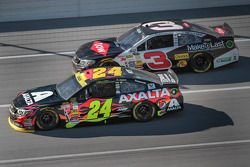 Jeff Gordon and Austin Dillon