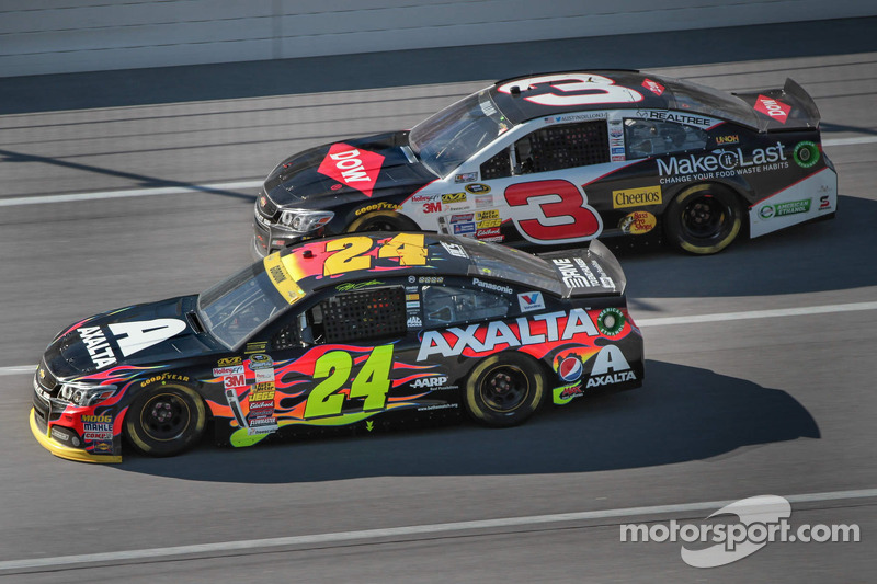 Jeff Gordon e Austin Dillon