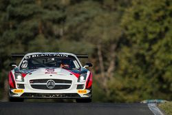 #63 Fortec Motorsports Mercedes SLS AMG GT3: Miguel Toril, Benjamin Hetherington