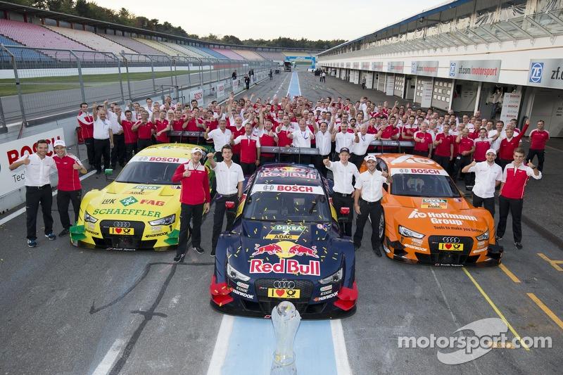 Audi, campeón en constructores