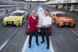 Constructors champion Audi - Dr. Wolfgang Ullrich, head of Audi Motorsport, Dieter Gass, head of Aud