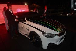The BMW M4 Marco Wittmann championship edition