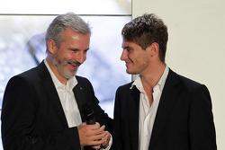 BMW Motorsport director Jens Marquardt and Marco Wittmann
