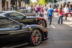 Ferrari North America 60th anniversary celebration in Beverly Hills