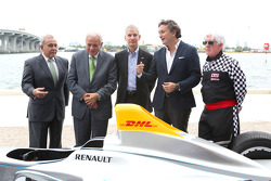 Willy Gort, Mark Sarnoff, Tomas Regalado, Alejandro Agag, William Talbert