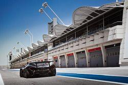 De McLaren P1 GTR