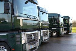 Usine de Caterham F1 à Leafield