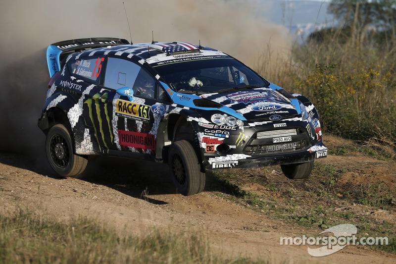 Ken Block e Alex Gelsomino, Ford Fiesta R5