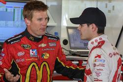 Jamie McMurray y Kyle Larson