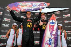Ganadores de carreras Shane van Gisbergen y Jonathon Webb