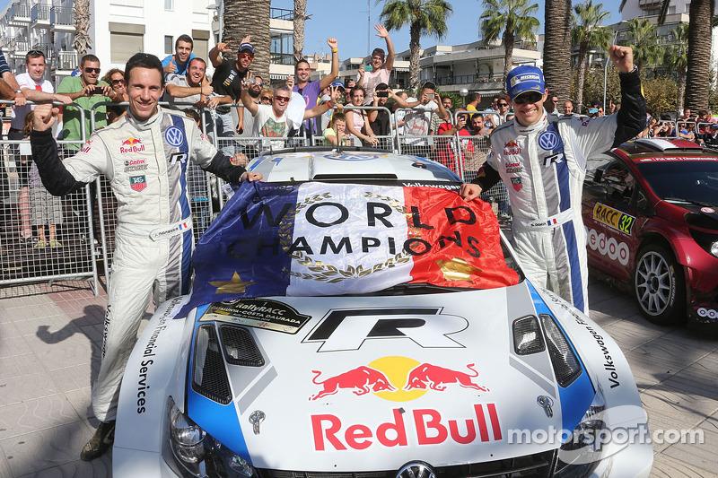 Sébastien Ogier y Julien Ingrassia, campeones del mundial de rallies (WRC) 2014