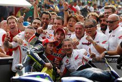 Marc Marquez, Repsol Honda Takımı ve Valentino Rossi, Yamaha