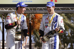 Champions WRC 2014 Sébastien Ogier et Julien Ingrassia, Volkswagen Polo WRC, Volkswagen Motorsport