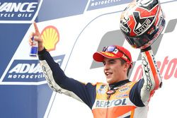 Race winner Marc Marquez, Respol Honda Team