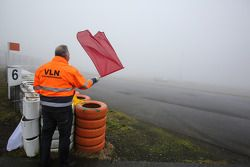Red flag due to fog