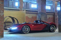 son derece özel, Pininfarina tarafından tasarlanan Ferrari Sergio