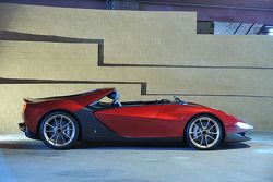 The highly exclusive, invitation only Ferrari Sergio designed by Pininfarina