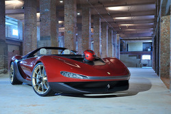 El altamente exclusivo, sólo con invitación Ferrari Sergio diseñado por Pininfarina