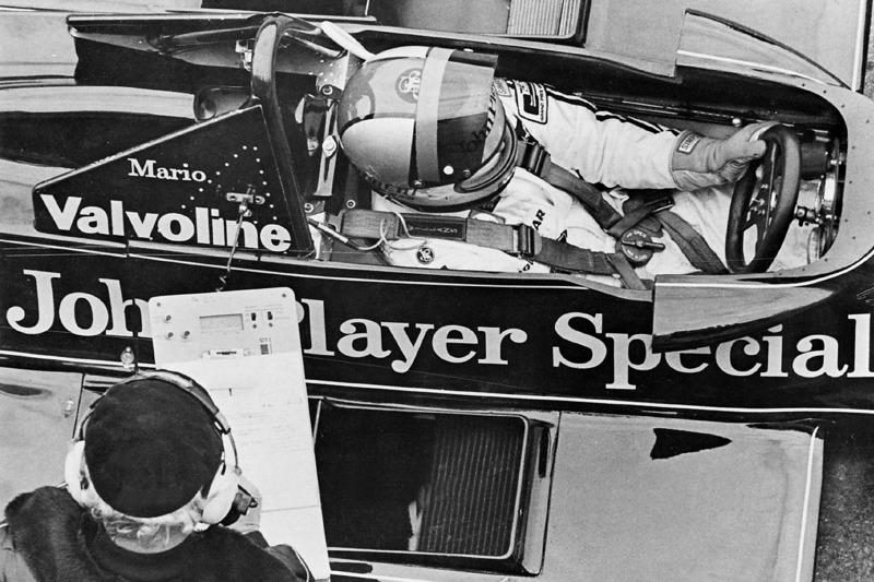 Mario Andretti ve Colin Chapman