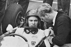 Jim Clark and Colin Chapman