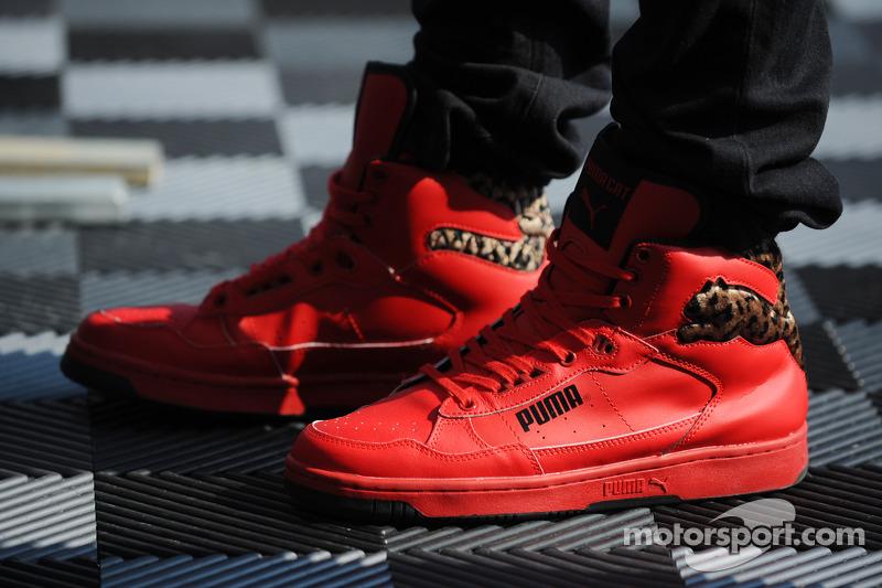 best sneakers 14b1d dbfd7 Schuhe von Lewis Hamilton bei GP der USA - Formel 1 Fotos
