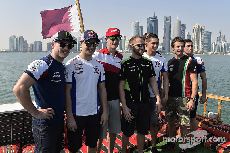 Les pilotes du World Superbike