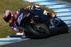 Casey Stoner testa para a Honda MotoGP