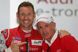 Tom Kristensen en Rinaldo Capello