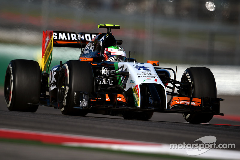 Sergio Pérez - 4 GP menés