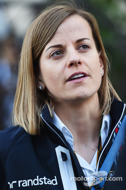 Susie Wolff, Williams F1 Team terzo pilota