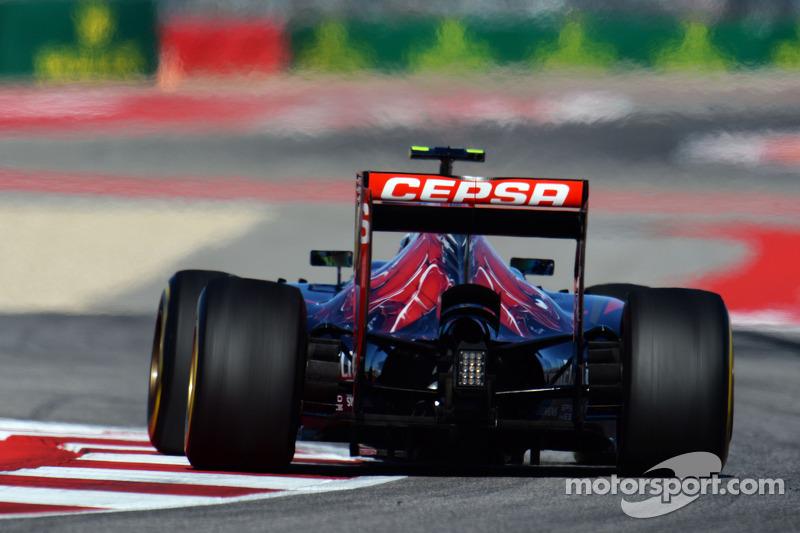 2014 год. За рулем болида Toro Rosso STR9 на пятничной тренировке