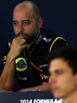 Gérard Lopez lors de la conférence de presse FIA