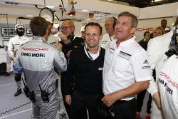 Alexander Hitzinger, Teknik Şefi Porsche LMP1, Fritz Enzinger, Porsche LMP1 başkanı