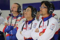 Yoshiaki Kinoshita, team president Toyota Hybrid Racing