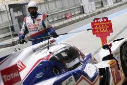 #7 Toyota Racing Toyota TS040 Hibrit: Alexander Wurz, Stéphane Sarrazin, Kazuki Nakajima