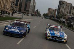 Parata nel centro di Baku