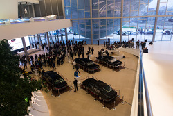 Conférence de presse au Crystal Hall à Baku