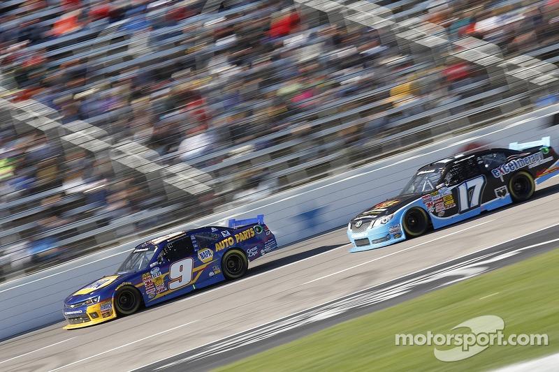 Chase Elliott ve Tanner Berryhill