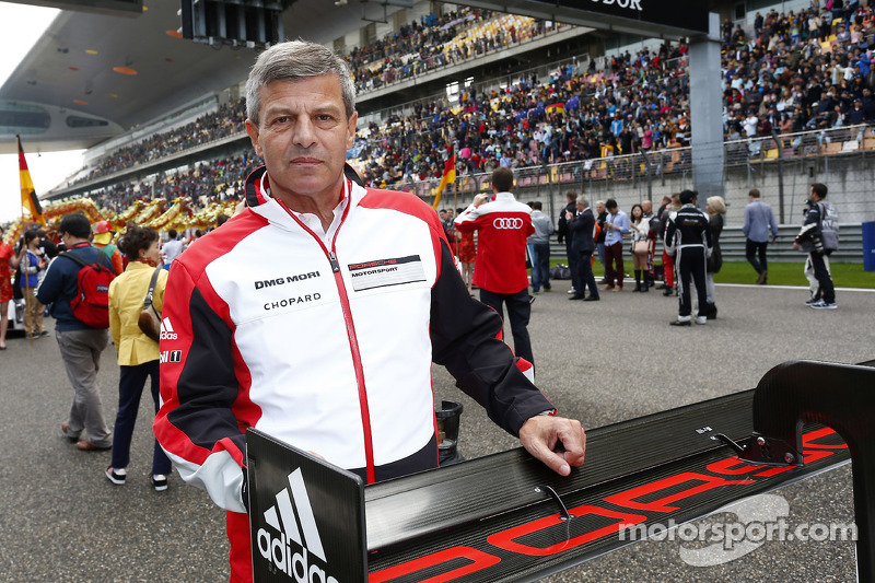Fritz Enzinger, head of Porsche LMP1