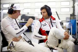 Mark Webber and Brendon Hartley