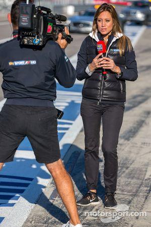Moderatorin von Sky Sports F1 Italia