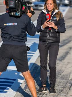Presentadora de F1 de Sky Sports italiana