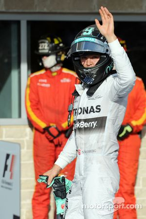 Second place Nico Rosberg