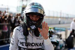 Nico Rosberg, Mercedes AMG F1 in parc ferme