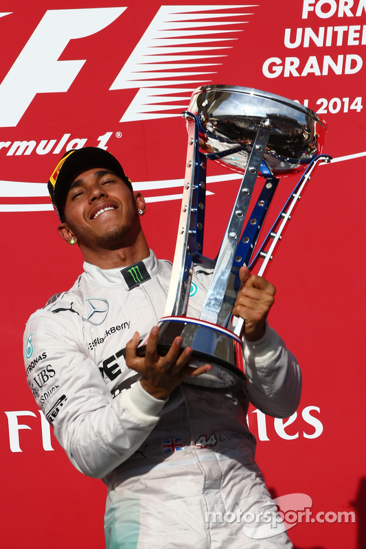 1er sitio Lewis Hamilton, Mercedes AMG F1